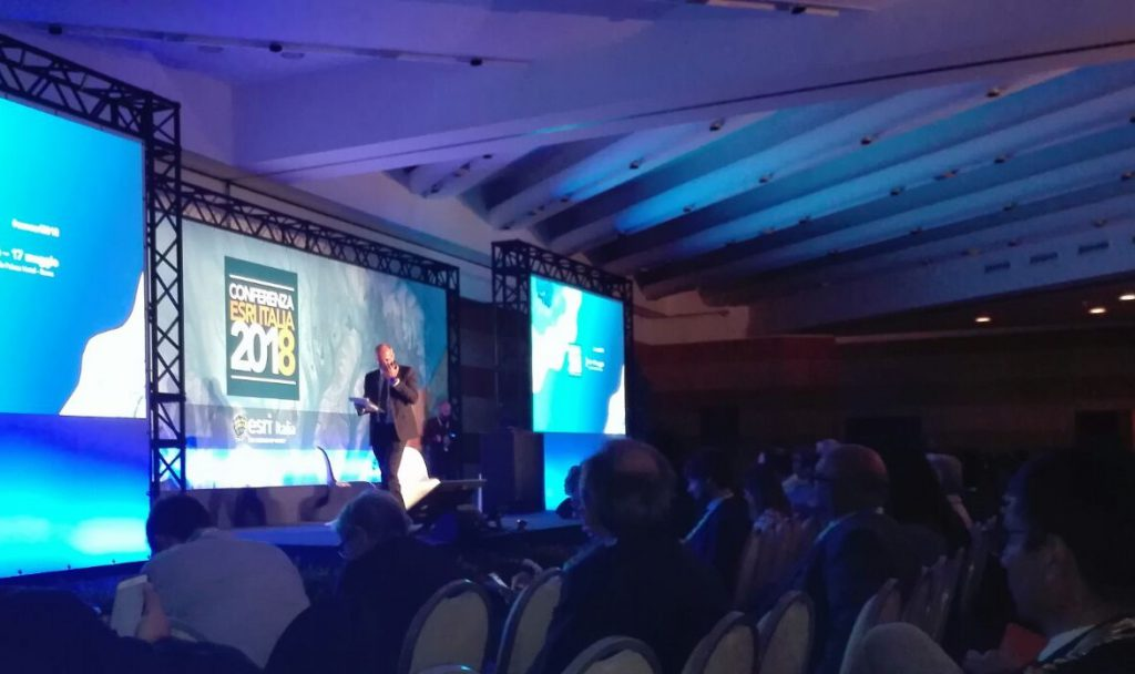 Plenaria conferenza Esri 2018