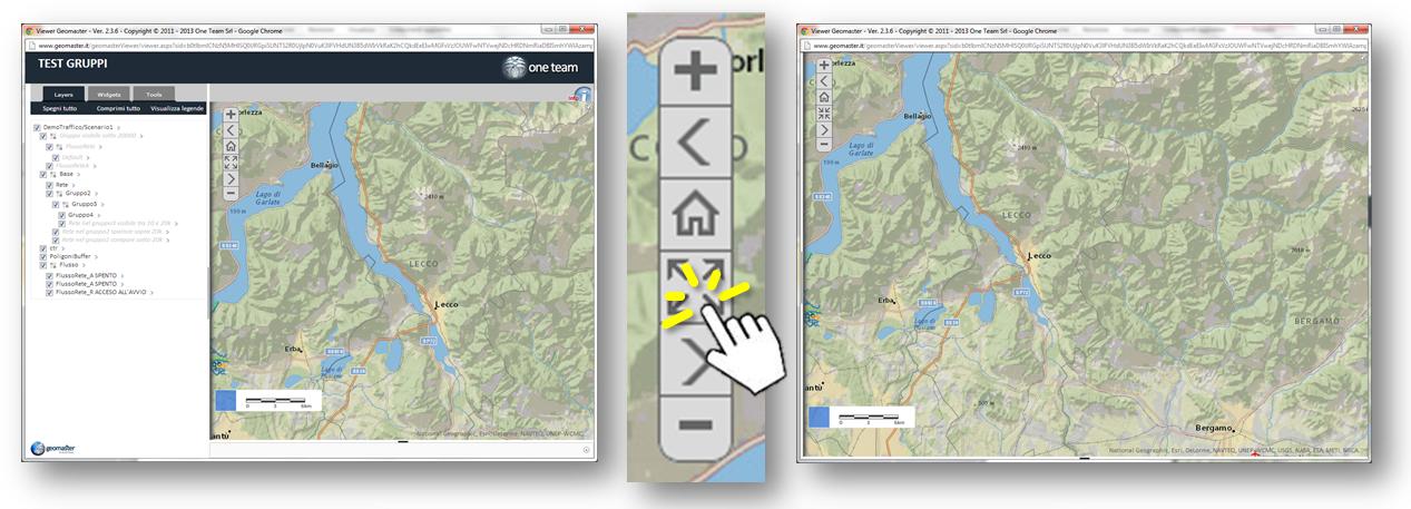 Il comando Mappa a tutto Schermo talvolta può diventare davvero utile...