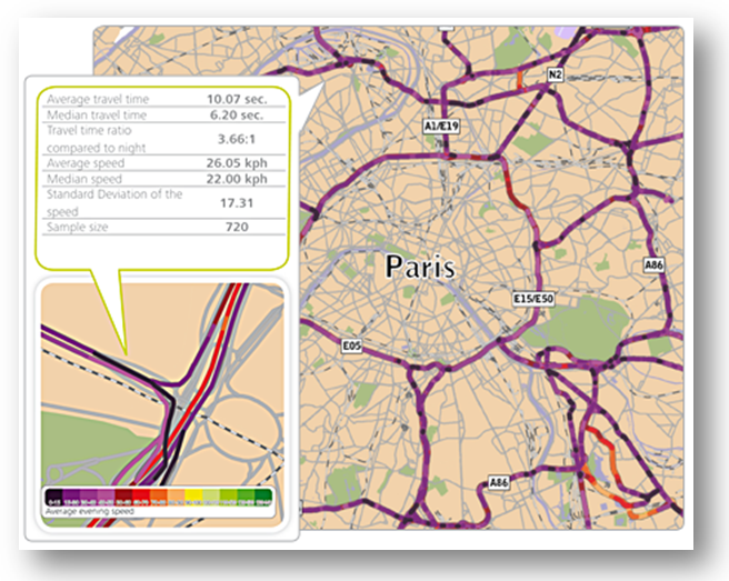 Custom Area Analysis per l'indagine contestualizzata del congestionamento.