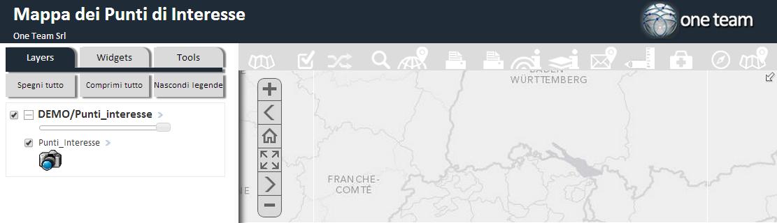 E' disponibile un nuovo set di icone per i Widget di Geomaster, sia in tema bianco che in nero; gli utenti ora hanno anche un modulo dia amministrazione per ulteriormente personalizzarle.