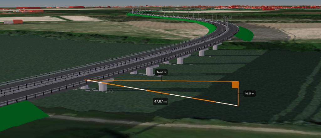 Il modello BIM di un'infrastruttura importato da IFC e pubblicato su ArcGIS Online
