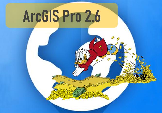 ArcGIS Pro 2.6 - Header