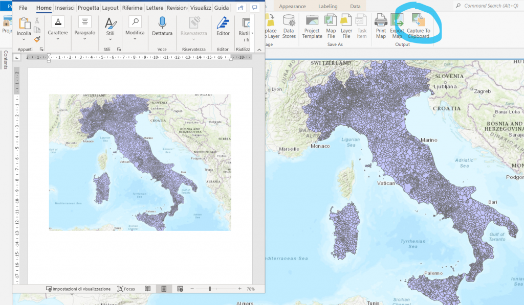 ArcGIS Pro 2.8 - Copy to Clipboard