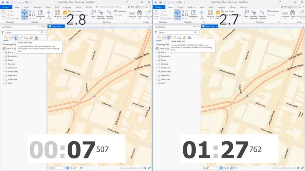 ArcGIS Pro 2.8 - Performance